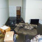 Flooded Basement Debris Removal