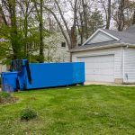residential removal on driveway on a residential property